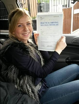 Student Who Passed Their Driving Test With Chase Cross School of Motoring 3