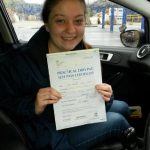 Student Who Passed Their Driving Test With Chase Cross School of Motoring 4