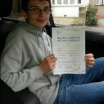 Student Who Passed Their Driving Test With Chase Cross School of Motoring 5