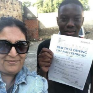 Anjum Pathan Female Driving Instructor in East London